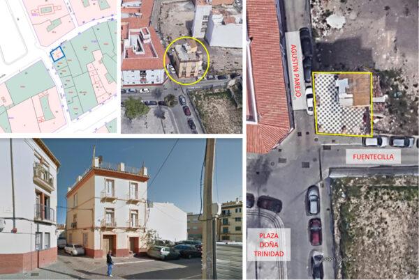 Edificio en venta para reformar en MÁLAGA centro, C/ Fuentecilla n 20.