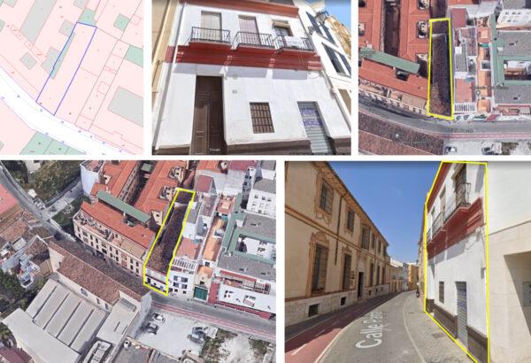 Edificio en venta para reformar en MÁLAGA centro, C/ Parras n 24. Proyecto para 12 viviendas.