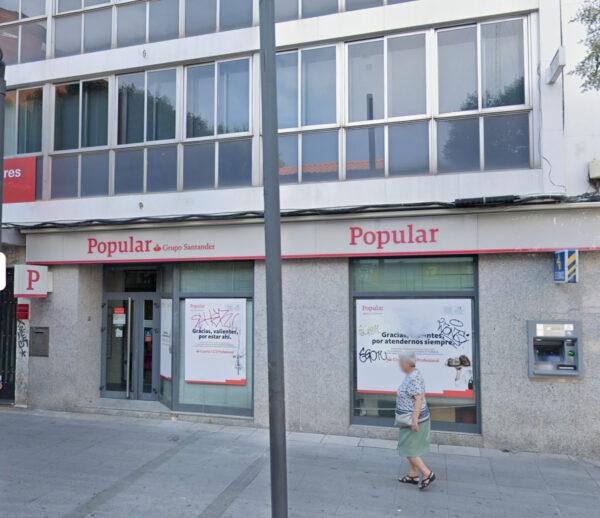 LOCAL en VENTA en RENTABILIDAD en MÓSTOLES – MADRID: Banco Santander